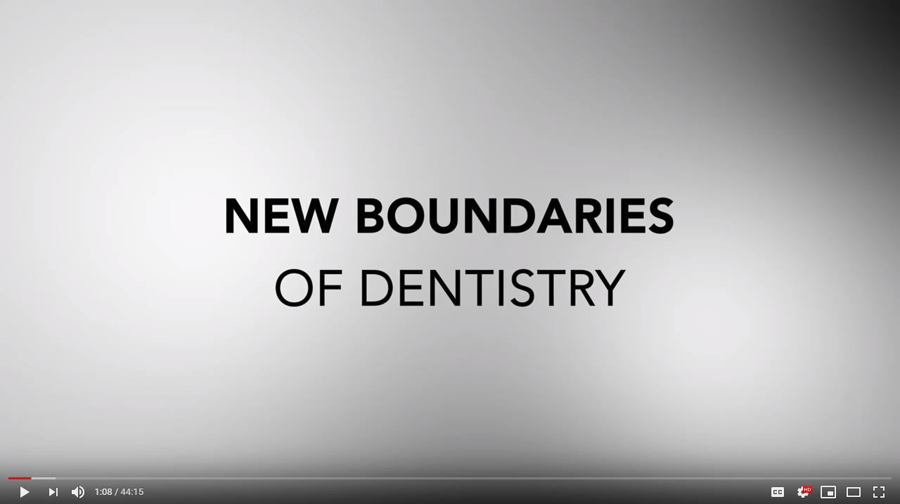 new boundaries of dentistry - dr miguel stanley