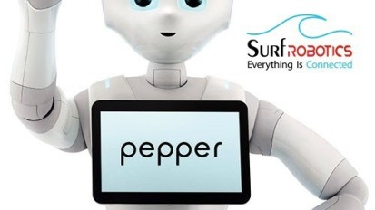 Pepper the Humanoid Robot